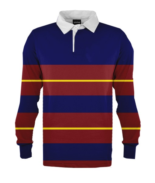 design 1 - Custom knitted rugby jerseys
