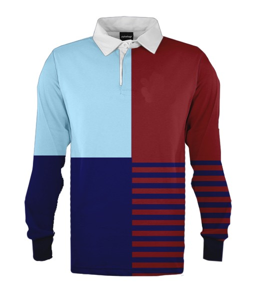 design 2 - Custom knitted rugby jerseys