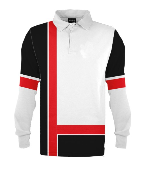 design 4 - Custom knitted rugby jerseys