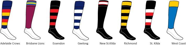 Football Socks (custom or stock)