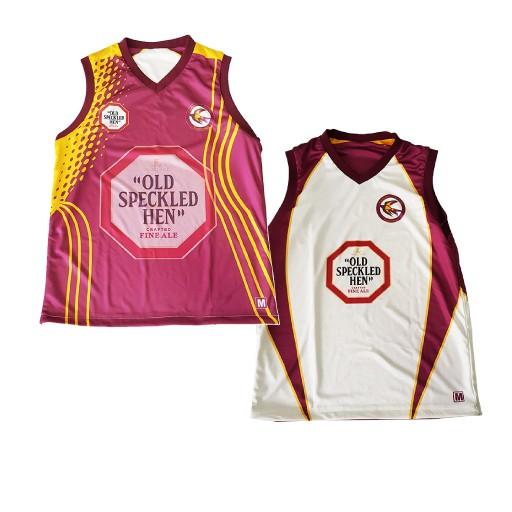 Sub designs revers vest - Sublimated Reversible Cricket Vest