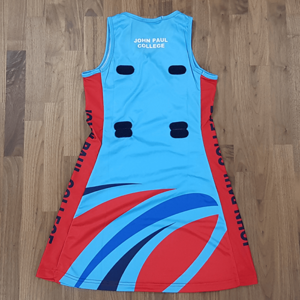 One Sport Custom Made Netball Teamwear, Netball Dress, shorts and socks