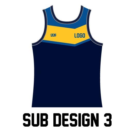 sub design singlet3 - Custom Tees and Singlets