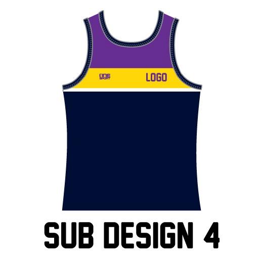 sub design singlet4 - Custom Tees and Singlets