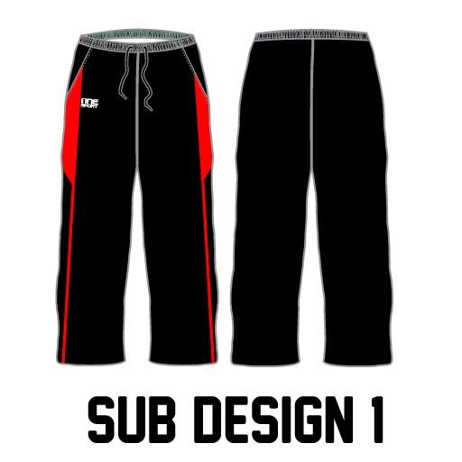 sub pant1 - Sublimated Cricket Pants