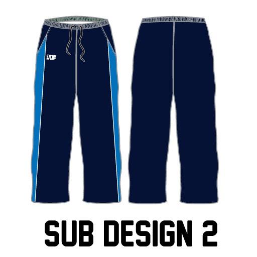 sub pant2 - Sublimated Cricket Pants