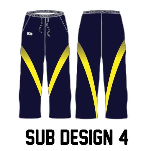 sub pant4 - Sublimated Cricket Pants