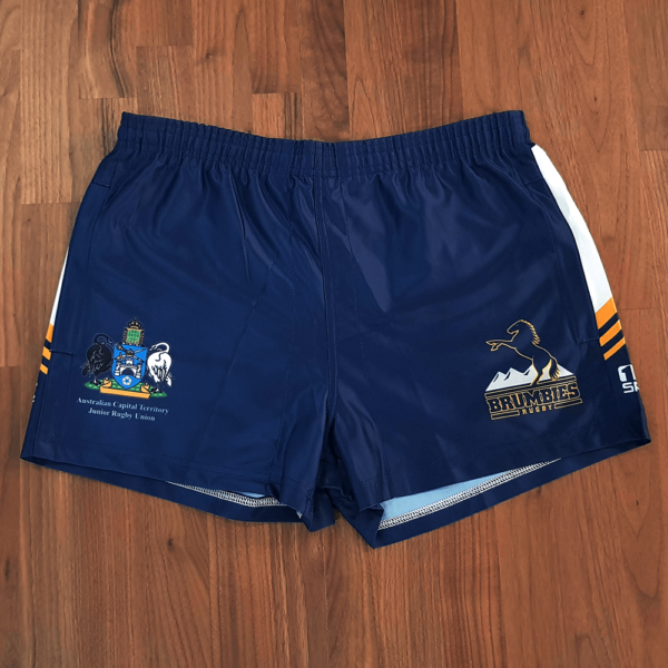 brumbies rugbyshort2 600x600 - Sublimated AFL Short