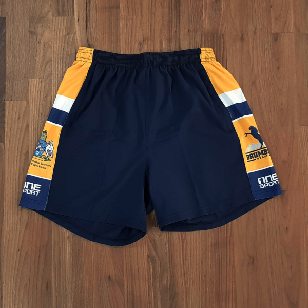 brumbies short 600x600 - Sublimated AFL Short