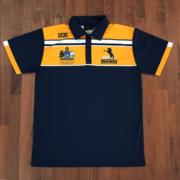 brumbies sub polofront 600x600 - Sublimated Cricket Polo