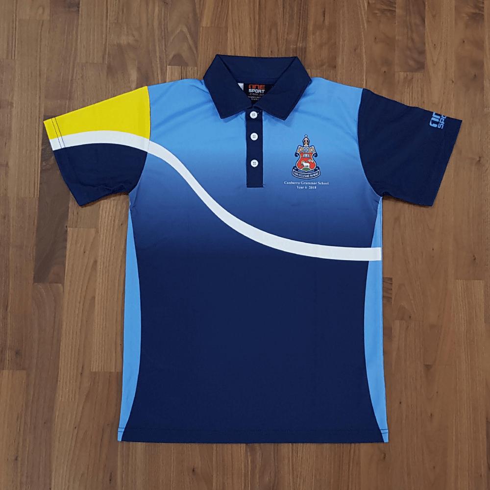 One Sport Custom made Polo Shirt School leavers