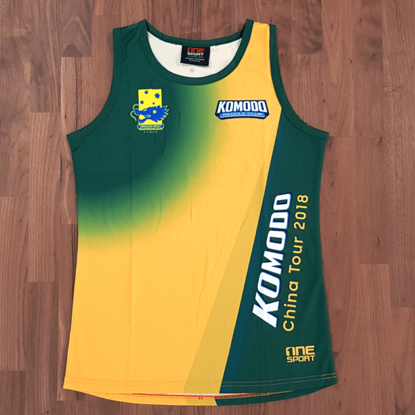 One Sport Custom Made Singlet Sublimation