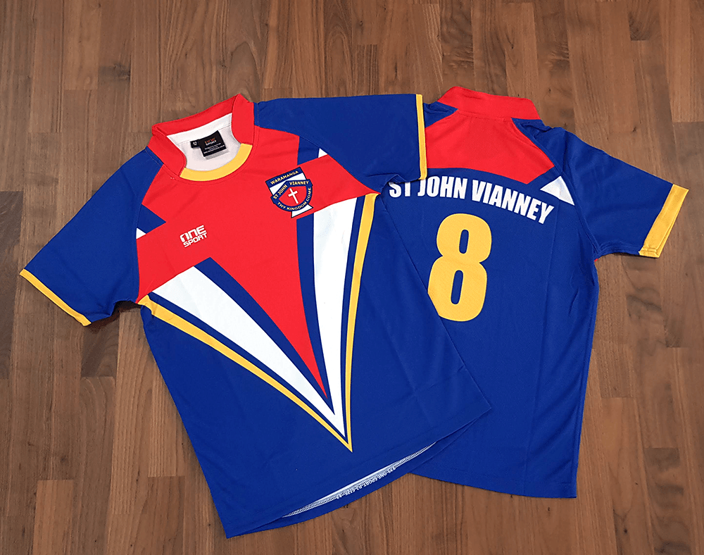 Custom Sublimated Rugby Jersey