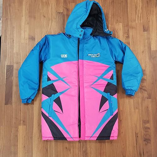 maximum velocity jacket front - Custom Parka Jackets