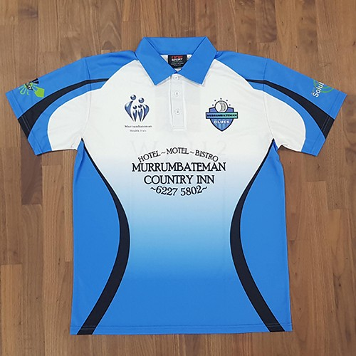 murrumbateman cricket polo front - TEAMWEAR CRICKET