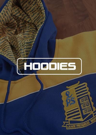 SL hoodies - Custom made Sublimated Tees