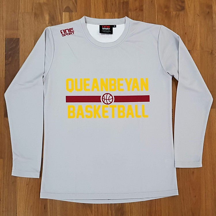 Yowies basketball  lstee front - Custom Tees and Singlets