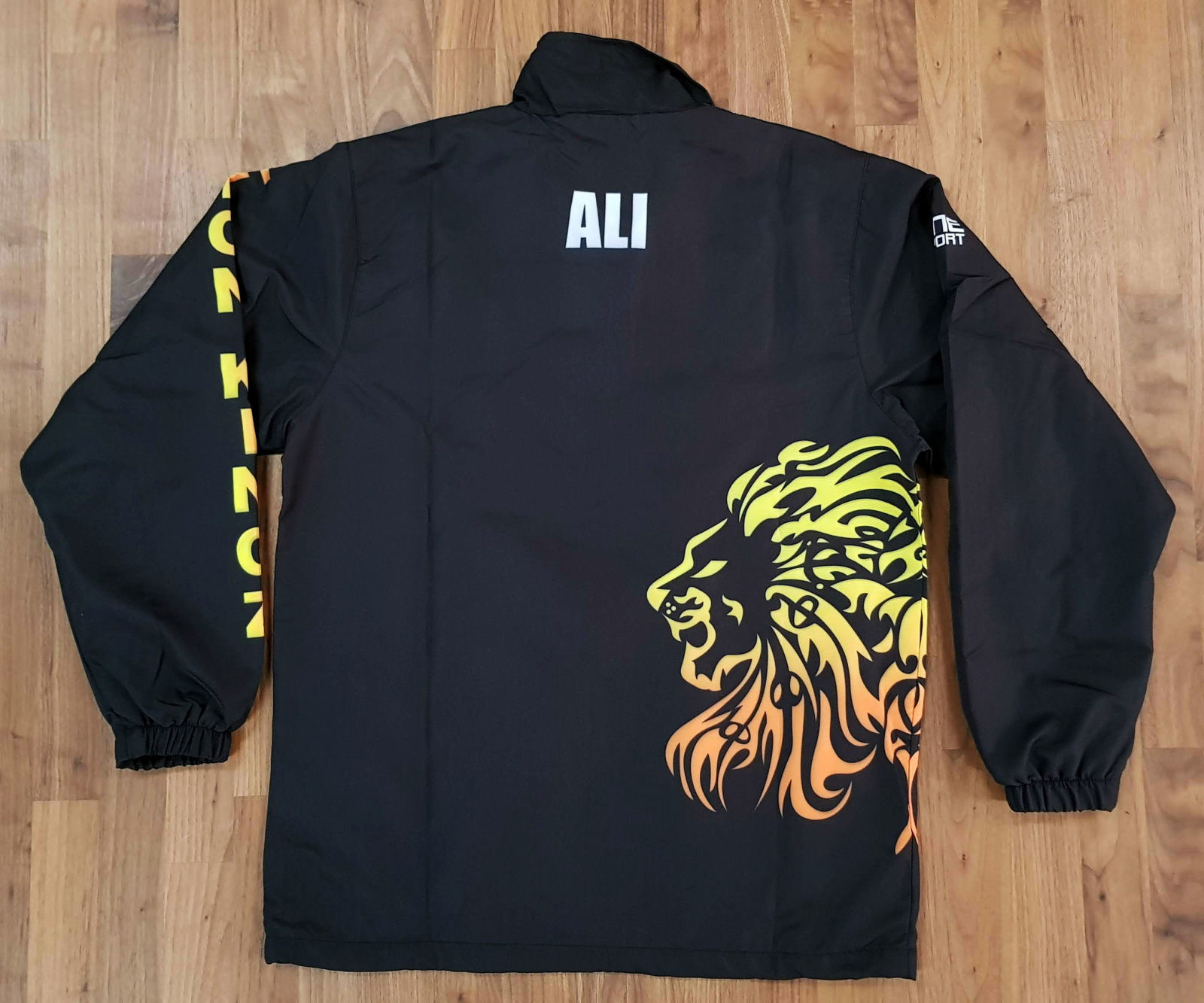 lionkings trackjacket back - Custom TRACKSUITS