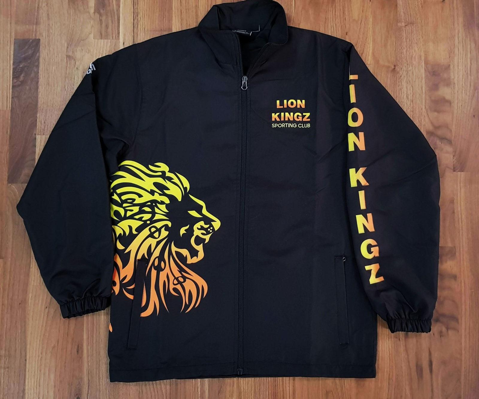 lionkings trackjacket front - Custom TRACKSUITS