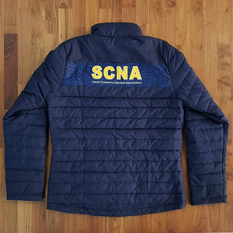 puffer scna back - Custom Puffer Jacket and Vest