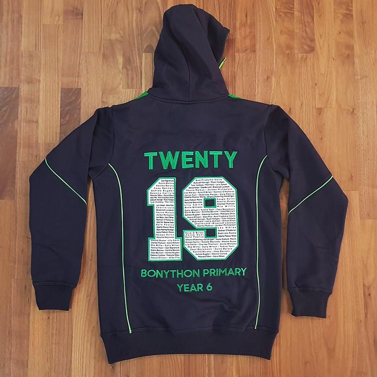 sl bonython hoodie back - School Leavers