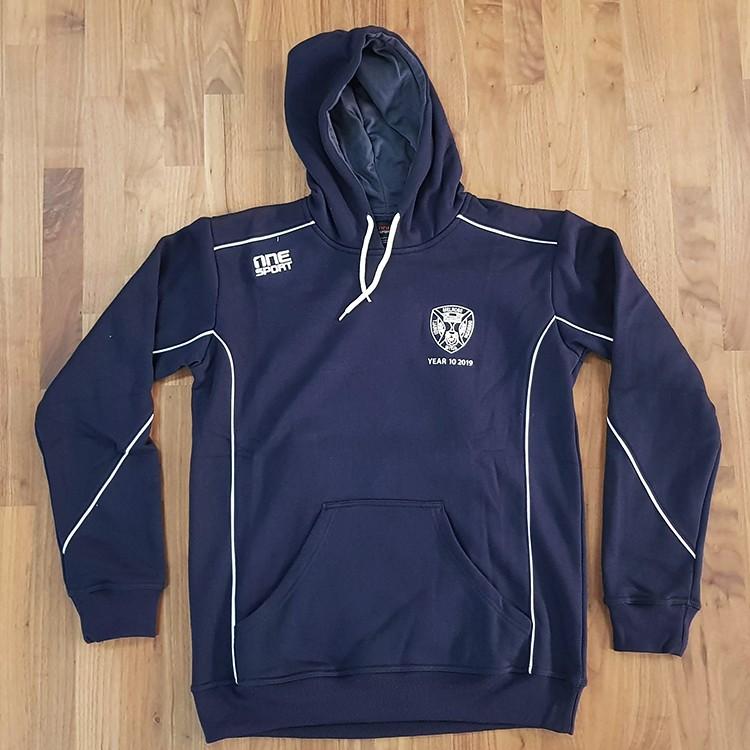 sl melrose hoodie front - School Leavers