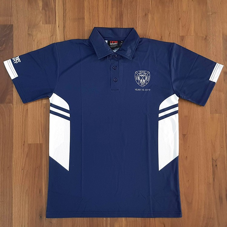 sl melrose polo front - School Leavers