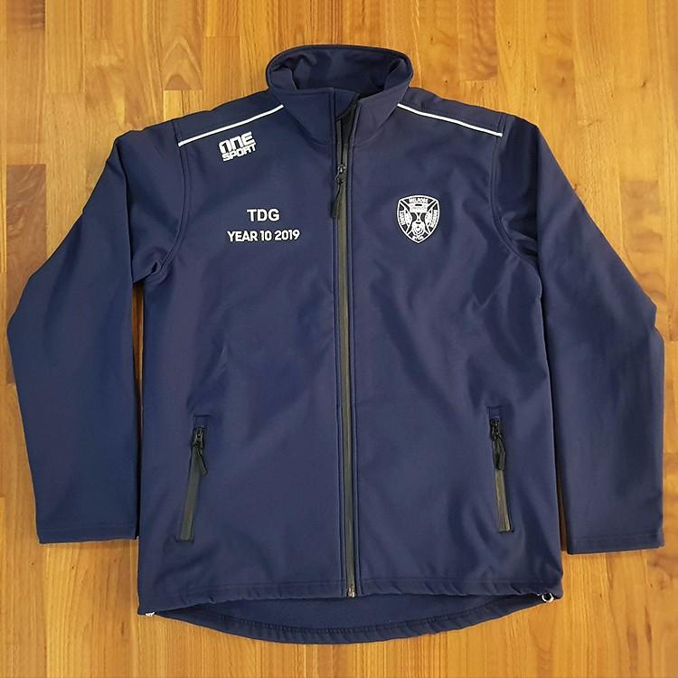 sl melrose softshell front - Custom Softshell Jackets