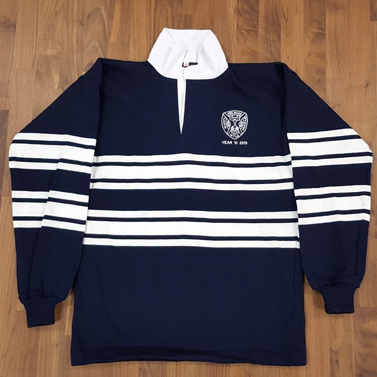 sl rugby jersey melrose front - School Leavers