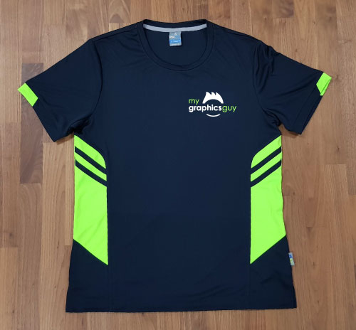 tee with small logo