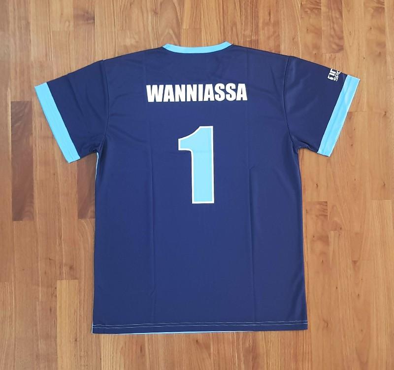 wanniassa soccer tee back - TEAMWEAR FOOTBALL-SOCCER
