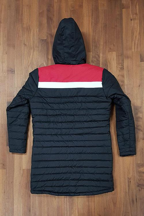 dara sport puffer parka back - Custom Parka Jackets