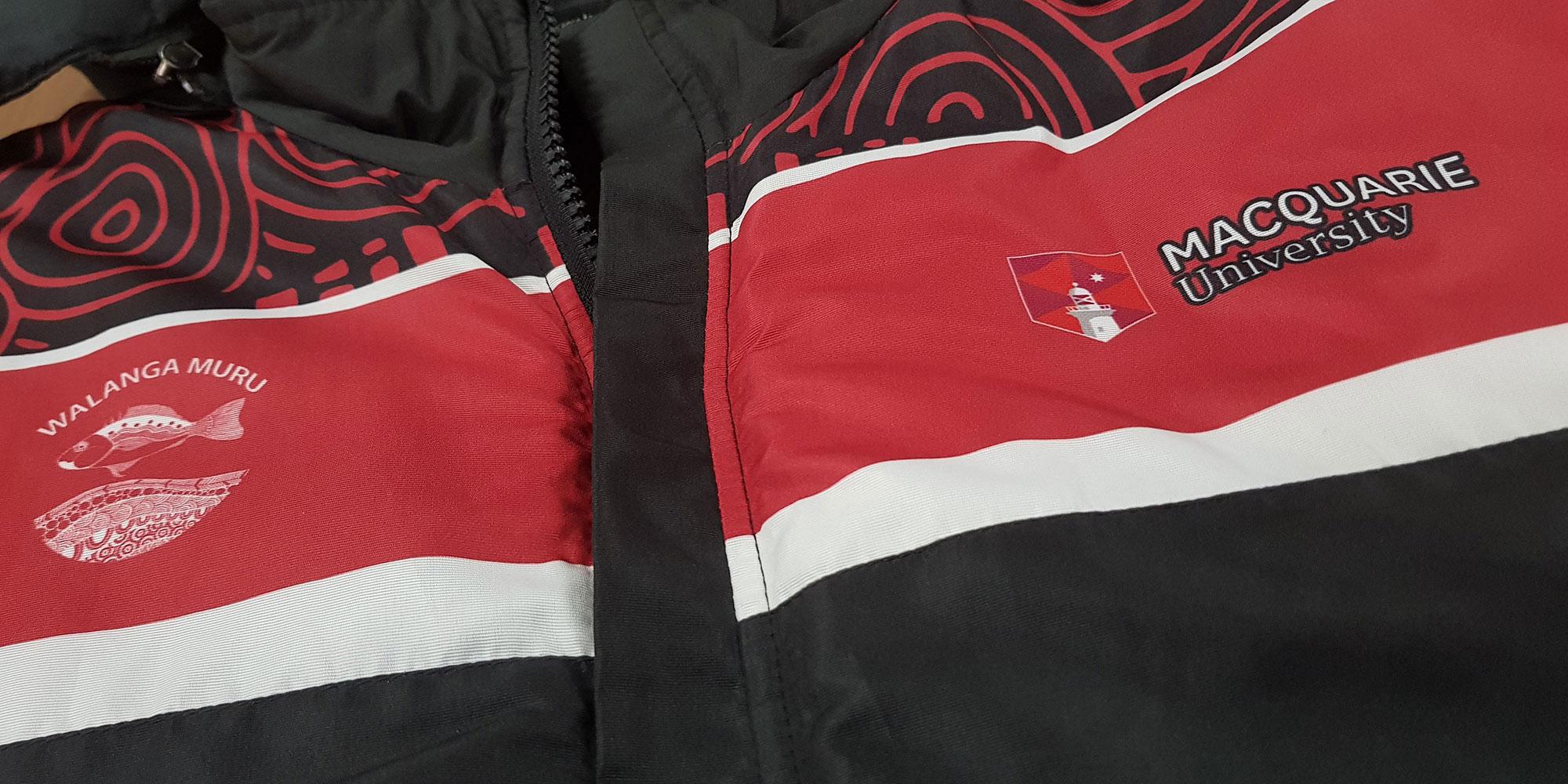 walanga parka closeup - Custom Parka Jackets