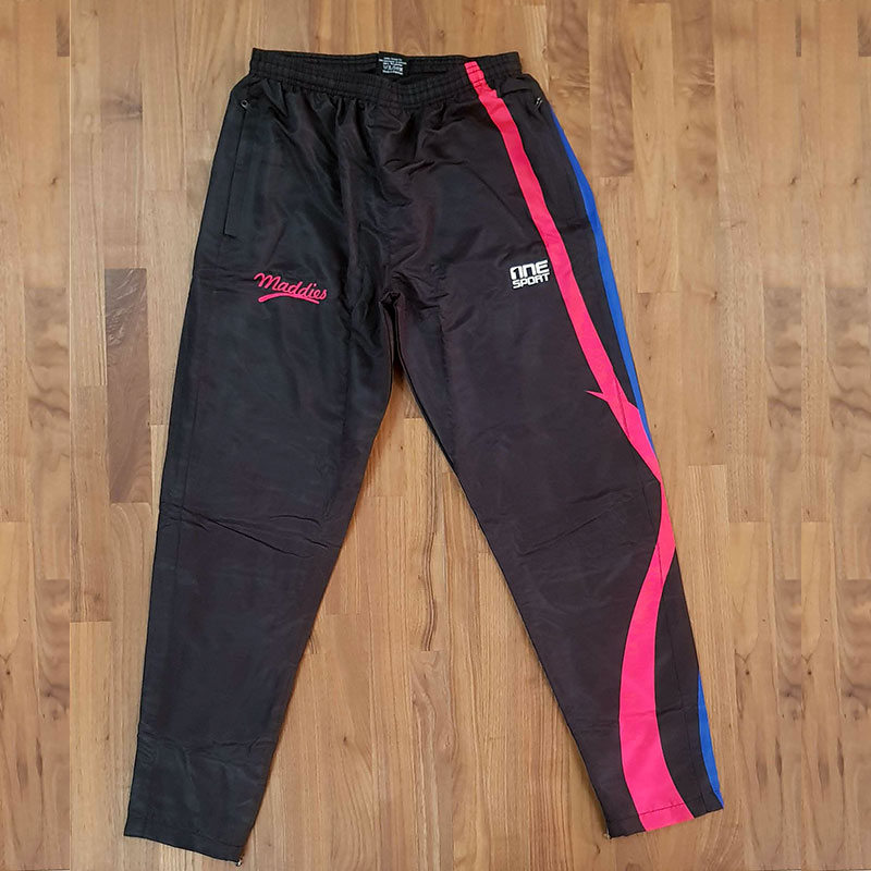 maddies trackpant front - Custom TRACKSUITS