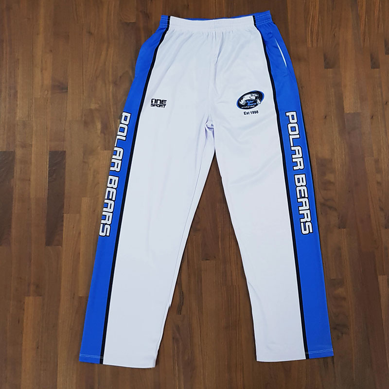 polar bears cricket pant front - TEAMWEAR CRICKET