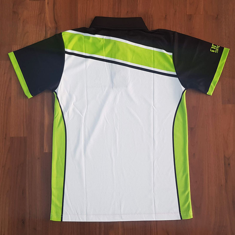 yass cricket polo back - TEAMWEAR CRICKET